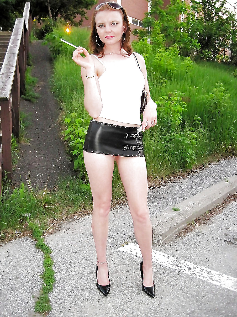 Teen whores in skirts